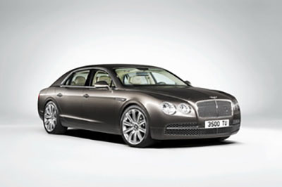 Obtenir code radio  Conti Flying Spur
